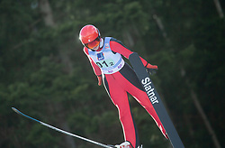 LOUTITT Alexandria (CAN) during First round on Day 1 of FIS Ski Jumping World Cup Ladies Ljubno 2020, on February 22th, 2020 in Ljubno ob Savinji, Ljubno ob Savinji, Slovenia. Photo by Matic Ritonja / Sportida