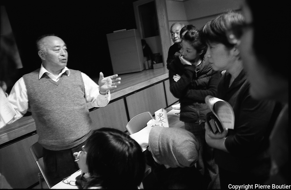 Mr Yoshitomo Sugihara disrict chief of Idate village located at 39 km from Fukushima nuclear plant  take class action  in court to protect his citizen from radiation and to not return at the irradiated village