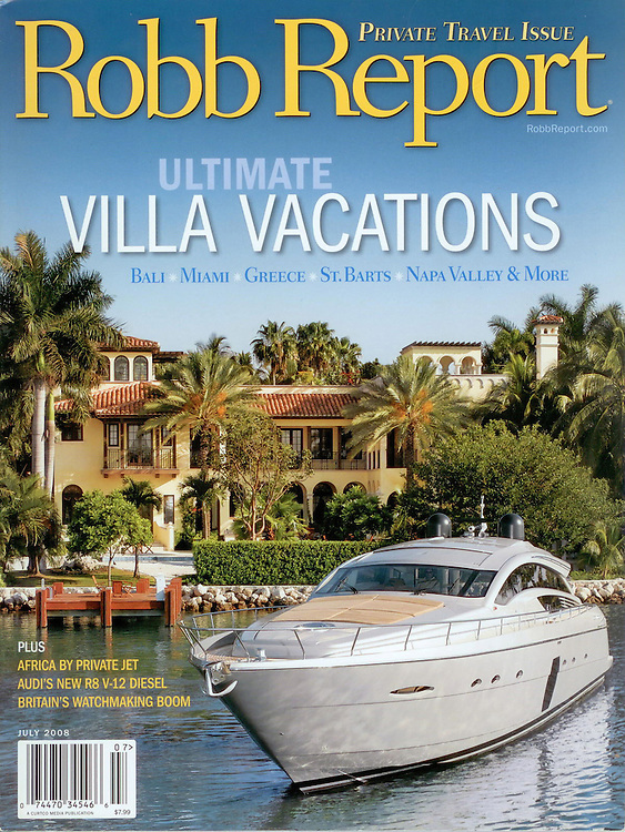Magazine Cover - Robb Report Star Island