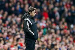 Middlesbrough Manager Aitor Karanka looks on - Photo mandatory by-line: Rogan Thomson/JMP - 07966 386802 - 15/02/2015 - SPORT - FOOTBALL - London, England - Emirates Stadium - Arsenal v Middlesbrough - FA Cup Fifth Round Proper.