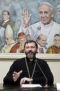 Roma 23th feb 2015, Major Archbishop of the ukrainian Greek Catholic church, H.B. Sviatoslav Shevchuk, press conference