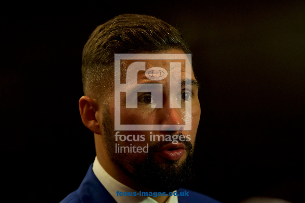 Tony Bellew during the Press Conference at the Park Plaza Hotel, Westminster Bridge, London.<br /> Picture by Alan Stanford/Focus Images Ltd +44 7915 056117<br /> 04/10/2017
