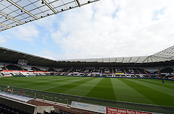 View inside Liberty Stadium  - Photo mandatory by-line: Alex James/JMP - Mobile: 07966 386802 20/09/2014 - SPORT - FOOTBALL - Swansea - Liberty Stadium - Swansea City v Southampton  - Barclays Premier League
