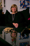 6/29/06 Omaha. NE Susan Buffett at her Omaha house..(photo by Chris Machian/Prairie Pixel Group)