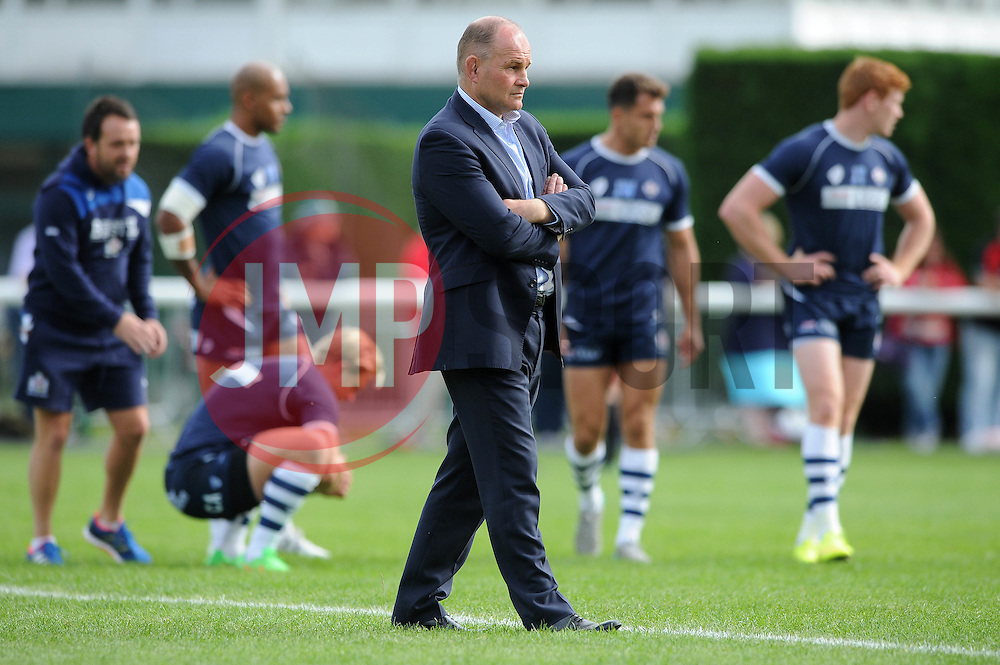 Bristol Director of Rugby, Andy Robinson - Mandatory byline: Dougie Allward/JMP - 07966 386802 - 13/09/2015 - RUGBY UNION - Old Deer Park - Richmond, London, England - London Welsh v Bristol Rugby - Greene King IPA Championship.