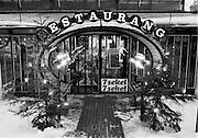 Restaurant 7 sekel i Kungsträdgården. Till kom vid Stockholms sjuhundraårsjubileum.