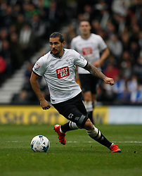 Bradley Johnson of Derby County in action - Mandatory byline: Jack Phillips / JMP - 07966386802 - 18/10/2015 - FOOTBALL - The iPro Stadium - Derby, Derbyshire - Derby County v Wolverhampton Wanderers - Sky Bet Championship