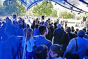 21.09.2006 Warszawa otwarcie tymczasowej ekspozycji w miejscu budowy Muzeum Zydow Polskich.Fot Piotr Gesicki Temporary exhibition in Jewish Museum Warsaw Poland photo Piotr Gesicki