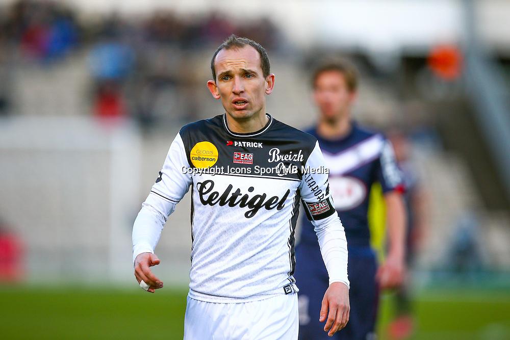 Thibault Giresse  - 01.02.2015 - Bordeaux / Guingamp - 23eme journee de Ligue 1 -<br /> Photo : Manuel Blondeau / Icon Sport