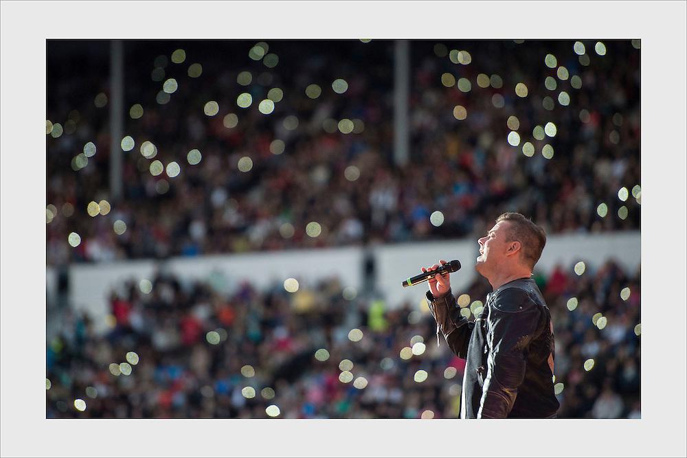Live Aid, Olympic Stadium, Helsinki, June 5, 2015.