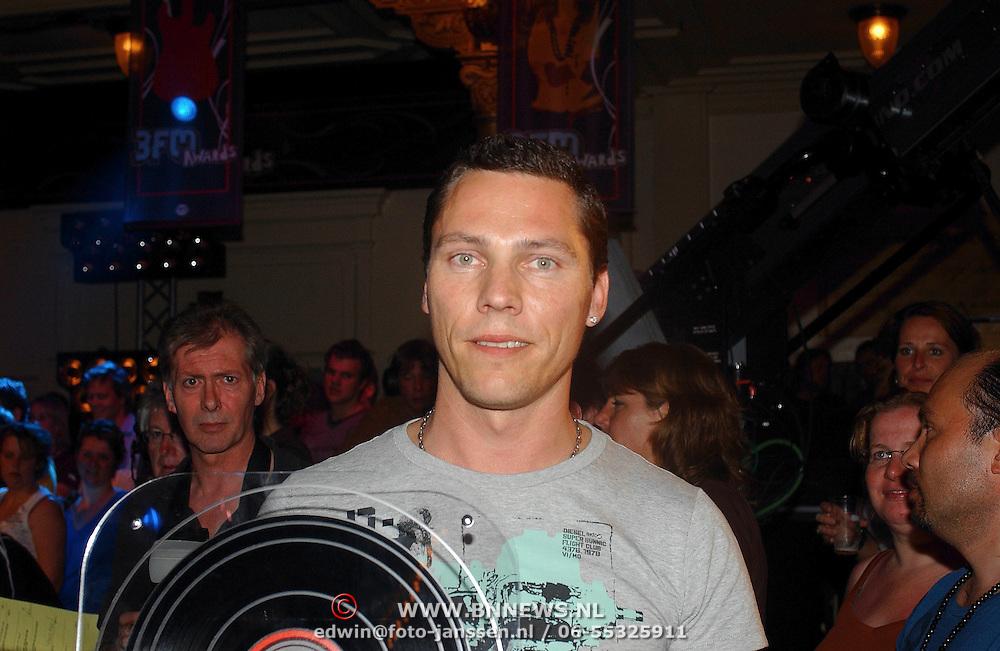 NLD/Amsterdam/20070415 - Uitreiking 3fm Awards 2007, DJ Tiesto, Thijs Verwest
