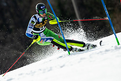 MAROVT Tijan of Slovenia during the Audi FIS Alpine Ski World Cup Men's Slalom 58th Vitranc Cup 2019 on March 10, 2019 in Podkoren, Kranjska Gora, Slovenia. Photo by Matic Ritonja / Sportida