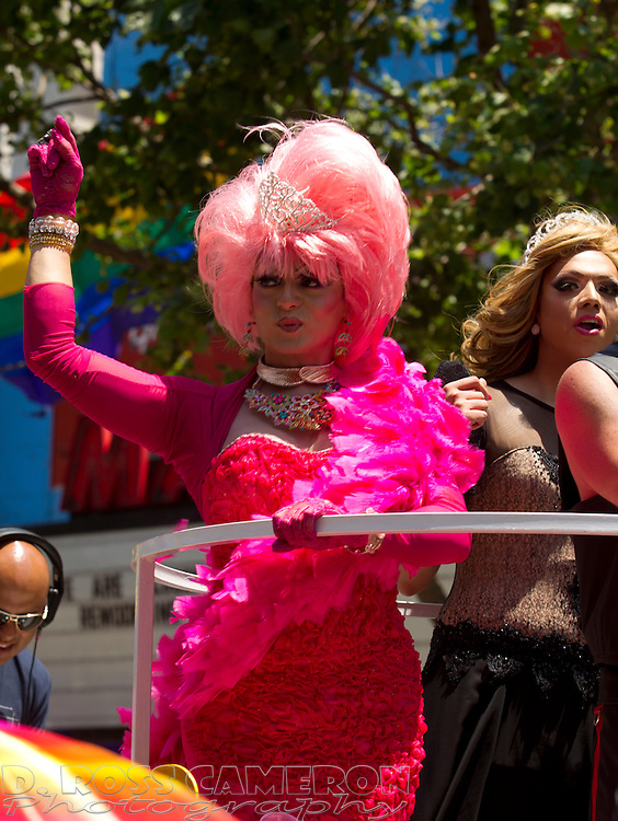 There were certainly their fair share of drag queens at the 43rd annual San Francisco Pride parade, Sunday, June 30, 2013 in San Francisco. (Photo by D. Ross Cameron)