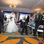 Wedding of Rachel and Andrew at the Marriott in Kingston
