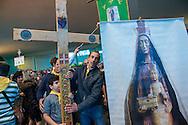 Santa Messa al Santuario della Madonna del Divino Amore di Rom e Sinti in occasione del Pellegrinaggio Mondiale del Popolo Gitano a Roma - Mass at the Shrine of Our Lady of Divine Love of Romani people, World Pilgrimage of Gypsies and Travellers to Rome.