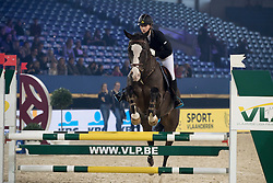 Van Bellinghen Charlotte, BEL, Gino D Ulysse<br /> Super Final Youth Cup LRV-VLP<br /> Vlaanderens Kerstjumping Memorial Eric Wauters - Juming Mechelen 2016<br /> © Dirk Caremans<br /> 26/12/2016er