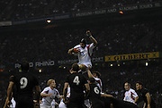 Twickenham. GREAT BRITAIN, Ben KAY collects  the line ball, during  the 2006 Investec Challenge, game between, England  and New Zealand [All Blacks], on Sun., 05/11/2006, played at the Twickenham Stadium, England. Photo, Peter Spurrier/Intersport-images].....   [Mandatory Credit, Peter Spurier/ Intersport Images].