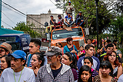 Iztapalapa is the most populous of Mexico City's sixteen boroughs, and with the huge numbers of additional visitors, an estimated 2-4 million spectators will gather to watch the annual Passion of the Christ procession.