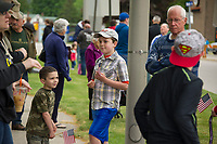 Memorial Day parade and service in Laconia, NH.  (Karen Bobotas/for the Laconia Daily Sun)