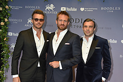 Jacobi Anstruther-Gough-Calthorpe (Centre)  with guests at the Boodles Boxing Ball, in association with Argentex and YouTube in Support of Hope and Homes for Children at Old Billingsgate London, United Kingdom - 7 Jun 2019 Photo Dominic O'Neil