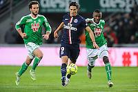 Edinson CAVANI - 25.01.2015 - Saint Etienne / PSG - 22eme journee de Ligue1<br /> Photo : Jean Paul Thomas / Icon Sport