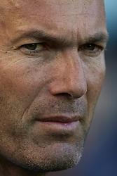 May 19, 2018 - Vila-Real, Castellon, Spain - Zinedine Zidane head coach of Real Madrid CF looks on prior to the La Liga game between Villarreal CF and Real Madrid CF at Estadio de la Ceramica on May 19, 2018 in Vila-real, Spain  (Credit Image: © David Aliaga/NurPhoto via ZUMA Press)