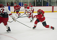 St Paul's School girls varsity hockey.  ©2017 Karen Bobotas Photographer