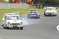 HSCC Gold Cup Oulton Park, Cheshire, United Kingdom.  28th-29th August 2011.  Race 11 HSCC ByBox Historic Touring Cars.  79 Mark Jones - Ford Lotus Cortina. World Copyright: Peter Taylor/PSP. Copy of publication required for printed pictures. Every used picture is fee-liable..
