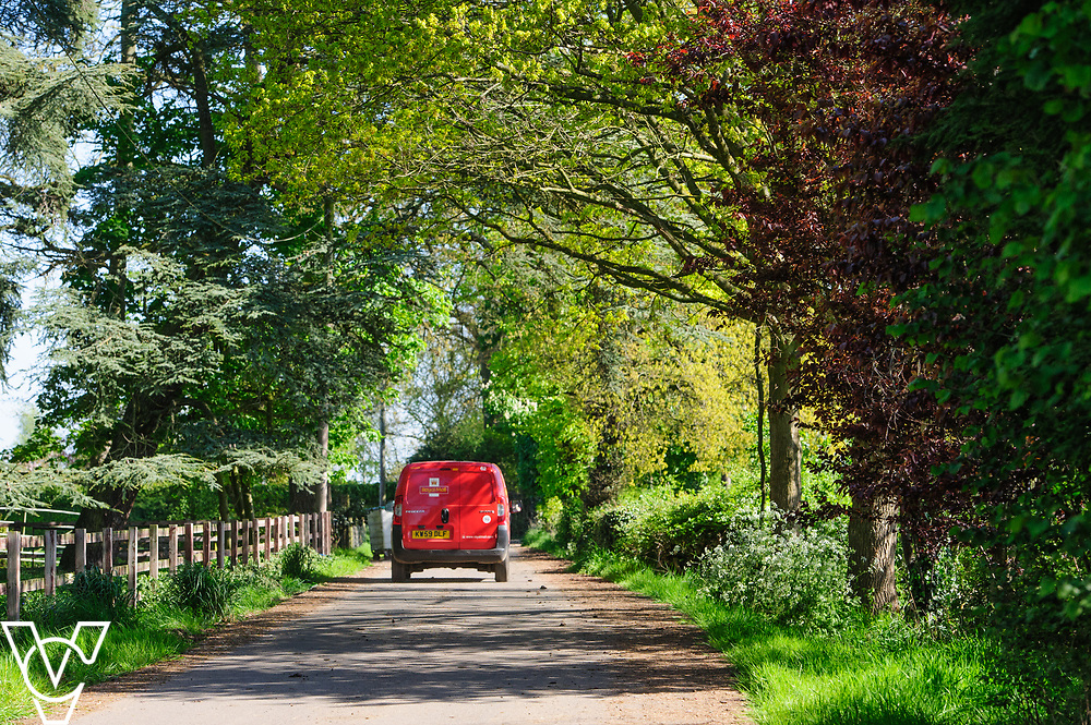 Royal Mail - Rugby mail processing unit.  Stock photography &ndash; Royal Mail rural delivery<br /> <br /> Picture: Chris Vaughan Photography<br /> Date: May 5, 2017