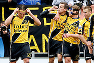 Onderwerp/Subject: NAC Breda - Eredivisie<br /> Reklame:  <br /> Club/Team/Country: <br /> Seizoen/Season: 2012/2013<br /> FOTO/PHOTO: Mats SEUNTJES (C) of NAC Breda celebrating his goal with Tim GILISSEN (R) of NAC Breda and Danny VERBEEK (RR) of NAC Breda and Nemanja GUDELJ (L) of NAC Breda ( 2 - 0 ). (Photo by PICS UNITED)<br /> <br /> Trefwoorden/Keywords: <br /> #02 #06 $94 &plusmn;1355238527106<br /> Photo- &amp; Copyrights &copy; PICS UNITED <br /> P.O. Box 7164 - 5605 BE  EINDHOVEN (THE NETHERLANDS) <br /> Phone +31 (0)40 296 28 00 <br /> Fax +31 (0) 40 248 47 43 <br /> http://www.pics-united.com <br /> e-mail : sales@pics-united.com (If you would like to raise any issues regarding any aspects of products / service of PICS UNITED) or <br /> e-mail : sales@pics-united.com   <br /> <br /> ATTENTIE: <br /> Publicatie ook bij aanbieding door derden is slechts toegestaan na verkregen toestemming van Pics United. <br /> VOLLEDIGE NAAMSVERMELDING IS VERPLICHT! (&copy; PICS UNITED/Naam Fotograaf, zie veld 4 van de bestandsinfo 'credits') <br /> ATTENTION:  <br /> &copy; Pics United. Reproduction/publication of this photo by any parties is only permitted after authorisation is sought and obtained from  PICS UNITED- THE NETHERLANDS