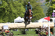 Micheal Duval Violton (FRA) riding Rebel De Beaumont during the International Horse Trials at Chatsworth, Bakewell, United Kingdom on 13 May 2018. Picture by George Franks.