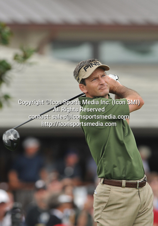 24 March 2013:  Mark Wilson during the final round of the Arnold Palmer Invitational at Arnold Palmer's Bay Hill Club & Lodge in Orlando, Florida.