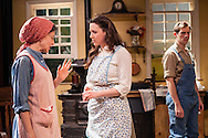 "Michelle Eugene, Alex Trow, and Rowan Michael Meyer in Owen Davis's ""The Detour"" at Metropolitan Playhouse."