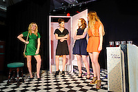 The cast of Stags & Hens performing at Fruit on Humber Street Hull. 25 July 2011