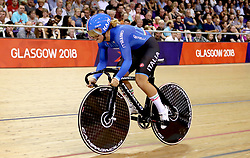 Italy's Miriam Vece competes in the Women's 500m Time Trial Final during day five of the 2018 European Championships at the Sir Chris Hoy Velodrome, Glasgow.