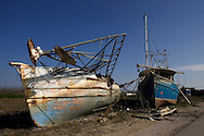 Plaquemines Parish took the most heavy damage from hurricane Katrina. Located south of New Orleans, Plaquemines Parish had a large Shrimping fisherman community which was completely destroyed by Katrina. It is just starting to rebound six months after Katrina.