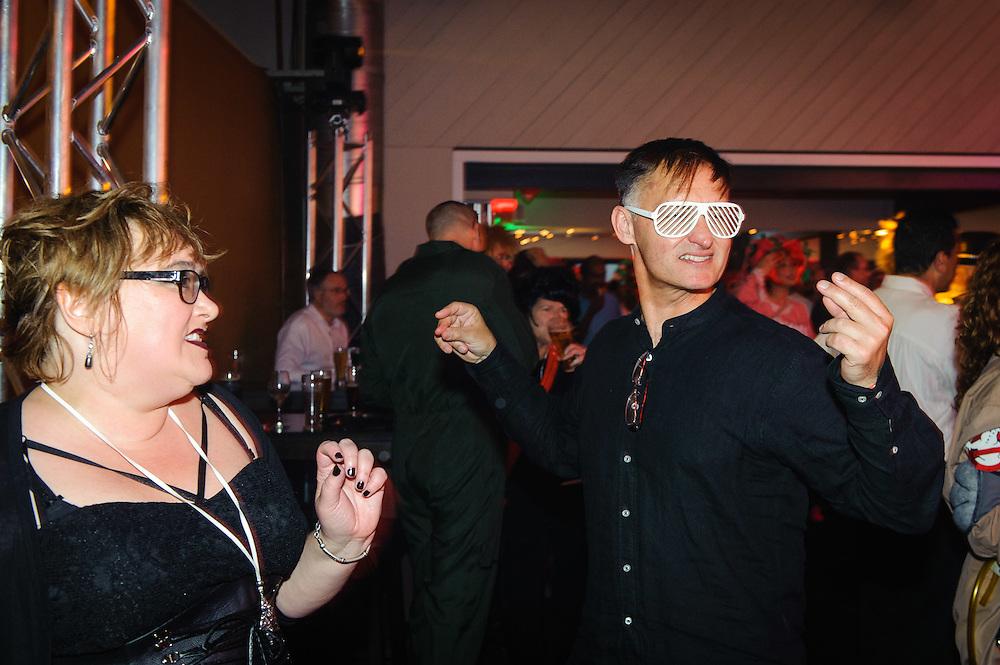 Back to the 80's – Wellington Staff Xmas Party. WELLINGTON, NEW ZEALAND - December 01: Westpac Bank December 01, 2015 Mac's Function Centre, Wellington, New Zealand. (Photo by Mark Tantrum/ http://mark tantrum.com)