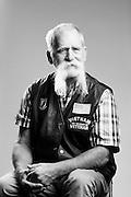 Russ Packard<br /> Navy<br /> ETN2<br /> ET<br /> Feb. 1964 - Feb. 1968<br /> Vietnam<br /> <br /> Veterans Portrait Project<br /> St. Louis, MO