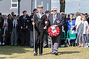 Nigel Whiteley, Royal Navy veteran representing the Blind Veterans Association<br />