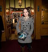 GEORGIA MOFFETT, Cirque de Soleil London premiere of Quidam. Royal albert Hall. 6 January 2009