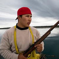 Jordin Tootoo grew up in a small village along the Hudson Bay only a hundred miles from the Arctic Circle. The first Inuit to play professionally in the National Hockey League, Tootoo spends his offseason at home where he fishes and hunts for Caribou, seal and Beluga whale. Living off the land is necessary for residents of the small village.