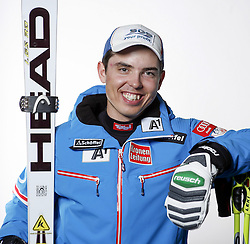 20.10.2012, Messehalle, Innsbruck, AUT, OeSV, Ski Alpin, Fototermin, im Bild Marcel Mathis (OeSV, Skirennlaeufer) // during the official Portrait and Teamshooting of the Austrian Ski Federation (OeSV) at the Messehalle, Innsbruck, Austria on 2012/10/20. EXPA Pictures © 2012, PhotoCredit: EXPA/ OeSV/ Erich Spiess