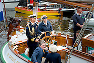 PRINCESS BEATRIX SAILS IN LEMMER
