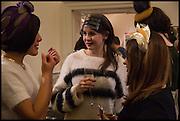 AWON GOLDING;  SYLVIA JARDIN; ROSE MACCULLAGH, HEADONISM, SOMERSET HOUSE, LONDON. 20 Feb 2015