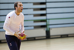 Uros Zorman during the Training Camp before IHF Men's Handball World Championship Spain 2013 on January 9, 2013 in Zrece, Slovenia. (Photo By Vid Ponikvar / Sportida.com)