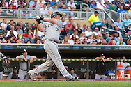 Adam Dunn #32 of the Chicago White Sox bats against the Minnesota Twins on June 19, 2013 at Target Field in Minneapolis, Minnesota.  The Twins defeated the White Sox 7 to 4.  Photo: Ben Krause
