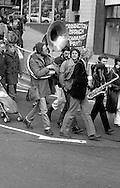 CND regional demonstration. Sheffield. 10/04/1982