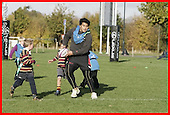 Saracens Masterclass at Old Albanians. 31-10-08. U7s and u8s