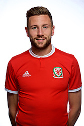 CARDIFF, WALES - Tuesday, September 4, 2018: Wales' Paul Dummett. (Pic by David Rawcliffe/Propaganda)