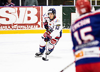 2019-10-13   Tyringe, Sweden: Halmstad Hammers (60) Martin Pärna during the game between Tyringe SoSs and Halmstad Hammers at Tyrs Hov (Photo by: Jonathan Persson   Swe Press Photo)<br /> <br /> Keywords: Tyrs Hov, Tyringe, Hockeyettan, Hockeyettansödra, Tyringe SoSs, Halmstad Hammers, (Match code th191013)